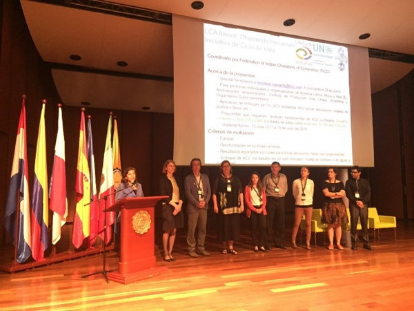 The launch of the LCA Awards at CILCA 2017 in Medellín, Colombia
