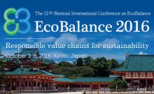 Life Cycle Initiative at Ecobalance 2016