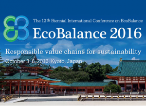Life Cycle Initiative at Ecobalance 2016