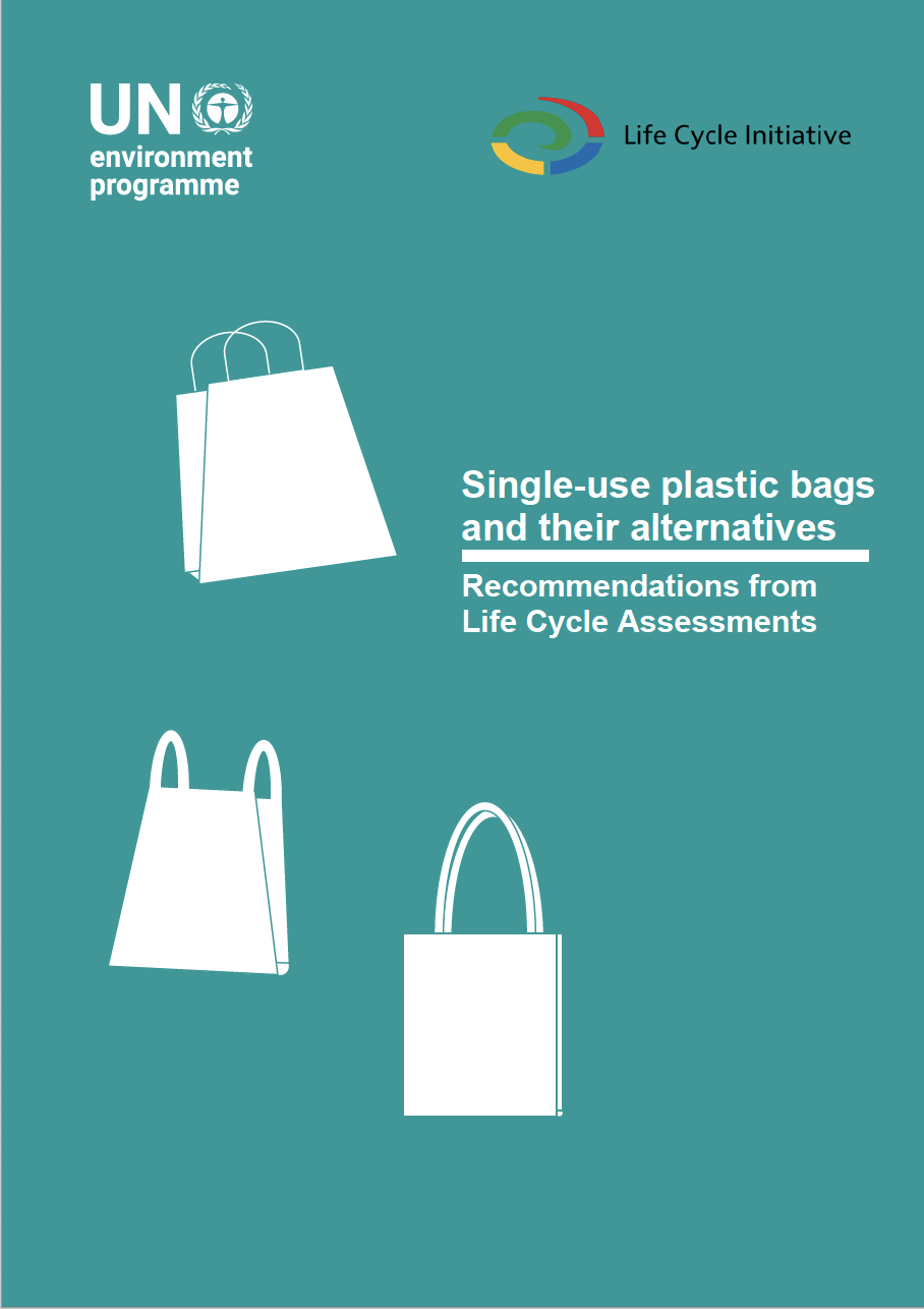 Single-use plastic bags and their alternatives: Recommendations from life cycle assessments