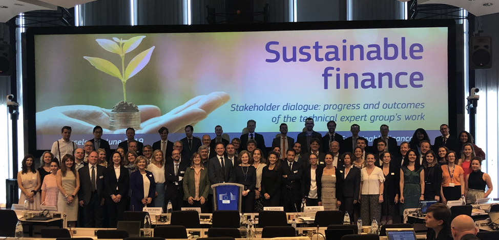 European Commission on implementation of the Action Plan on Financing Sustainable Growth