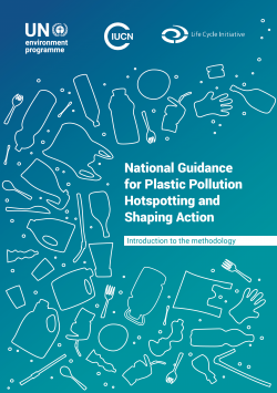 National Guidance for Plastic Pollution Hotspotting and Shaping Action cover